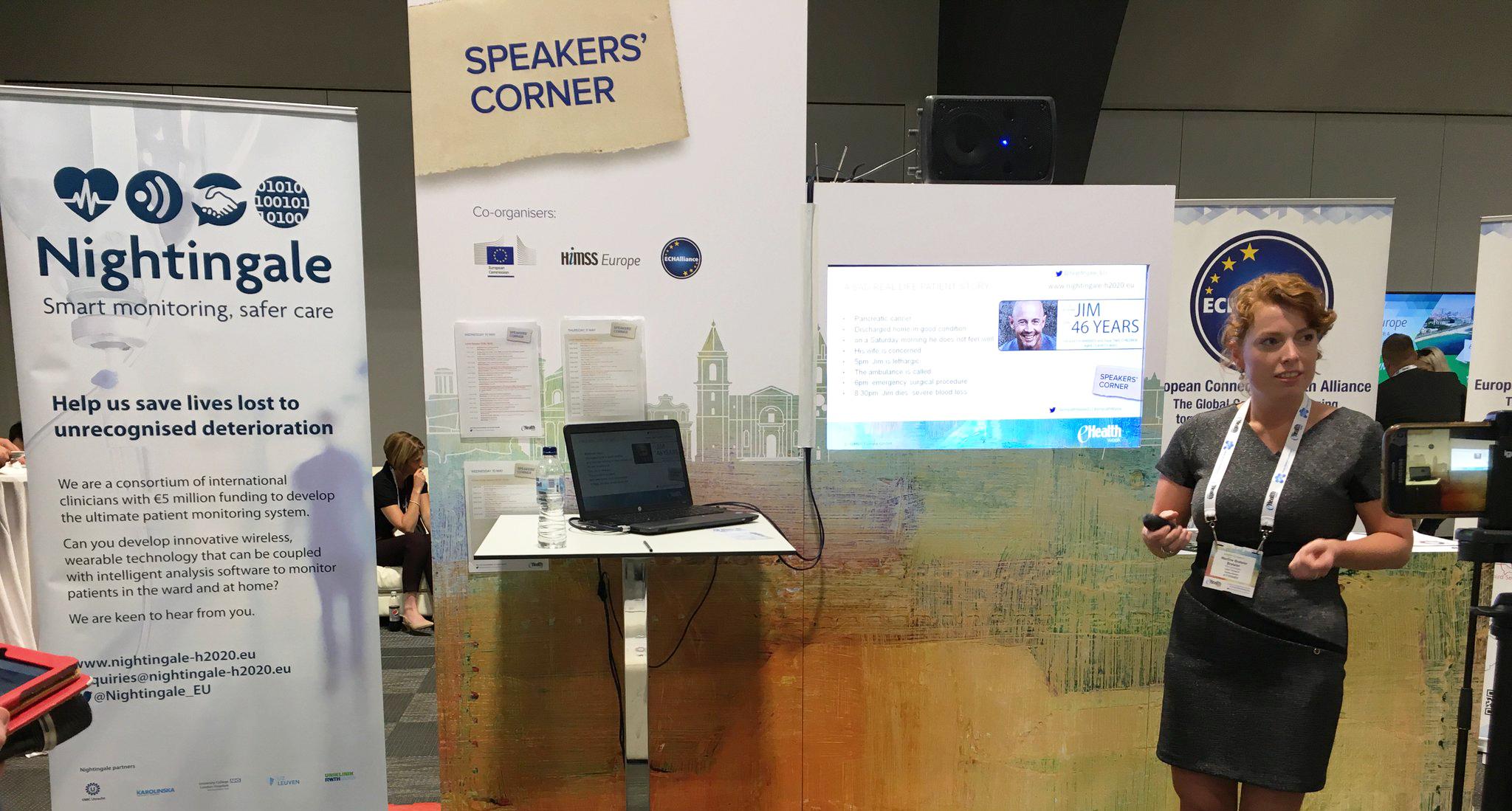 Martine Breteler op de eHealth Week 2017 in Malta