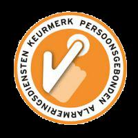 Logo keurmerk personenalarmering