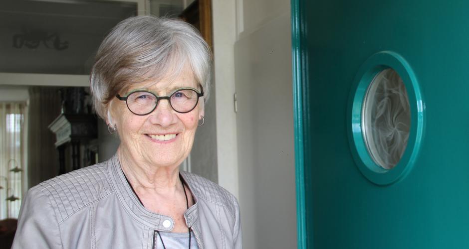 Marry Schenkeveld gebruikt cAlarm seniorenalarm