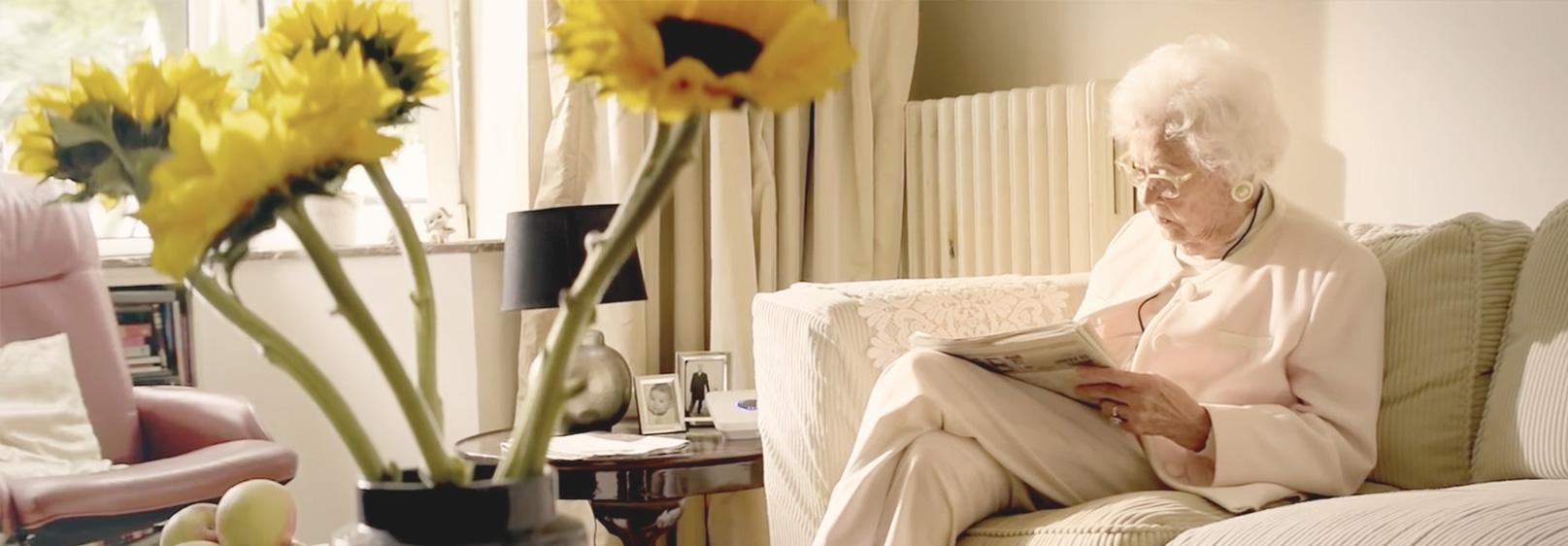 Cliënt woont zelfstandig thuis door zorginnovatie