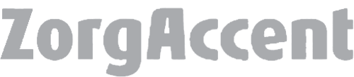Logo van onze klant ZorgAccent