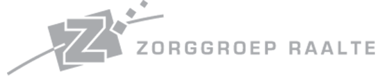Logo of our customer zorggroep Raalte