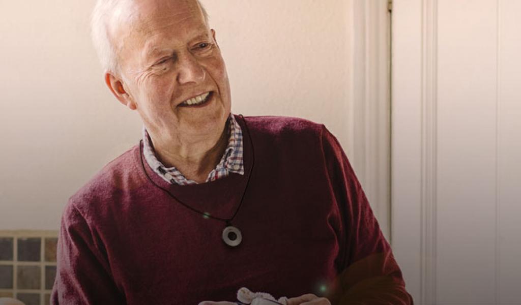 Een personenalarmering systeem om langer thuis te wonen