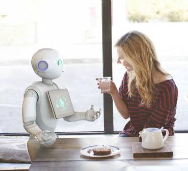 Social health robot Pepper